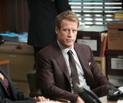 Mark Valley on Harry's Law