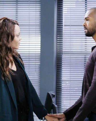 Lani and Eli Break Up - Days of Our Lives