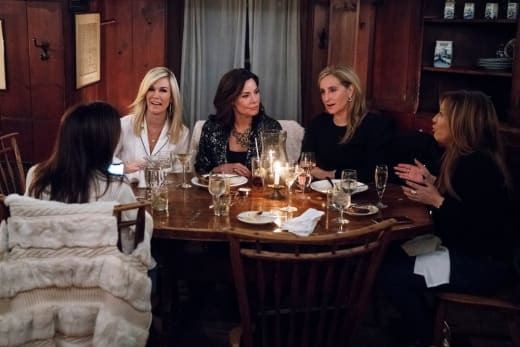 Luann's Narcissism - The Real Housewives of New York City