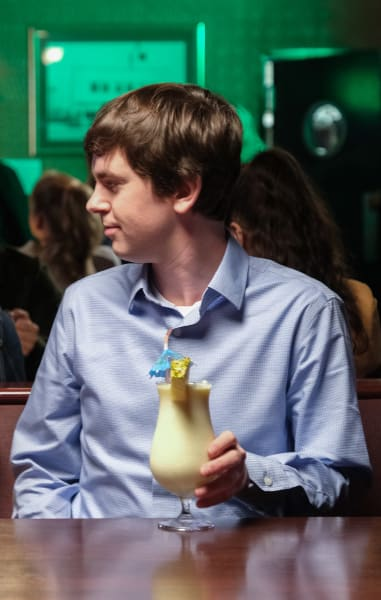 Having a Drink - The Good Doctor Season 3 Episode 15