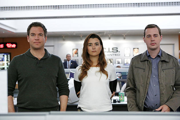 Tony, Tim and Ziva Photo