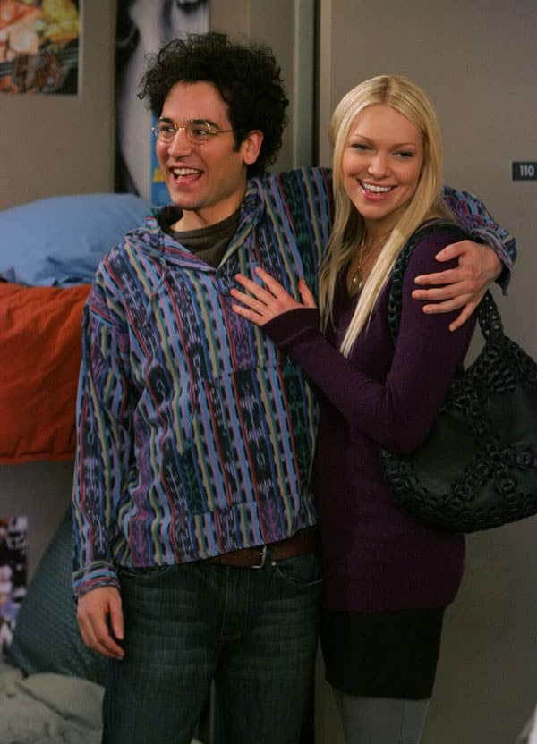 Ted Holds Karen in College
