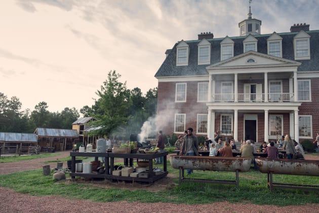 Hilltop Cookout - The Walking Dead Season 9 Episode 8