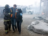 A Construction Explosion - Chicago Fire