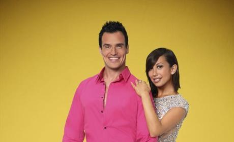 Antonio Sabato Jr. and Cheryl Burke  - Dancing With the Stars