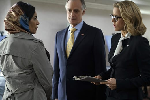Peace Talks - Madam Secretary
