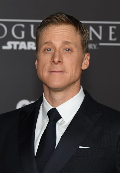 Alan Tudyk Attends Star Wars: Rogue One Premiere