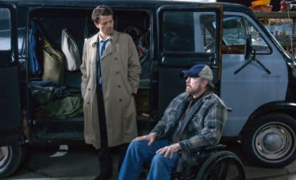Castiel and Bobby: Booked for Season Six of Supernatural