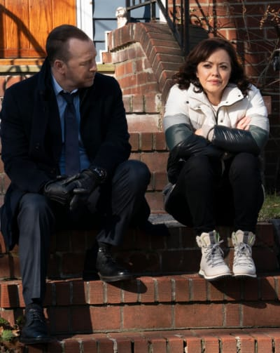 Confiding in Her Partner/Tall - Blue Bloods Season 11 Episode 9