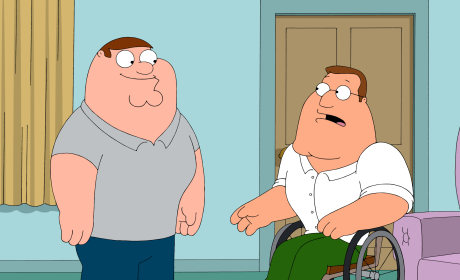 Joe's Dad - Family Guy