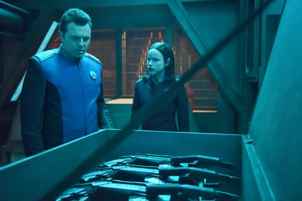 Weapons at the Ready - The Orville Season 1 Episode 11