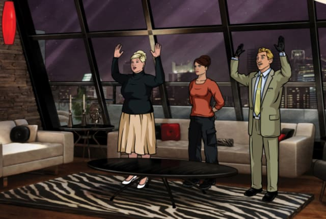 Watch archer season 2 episode 7 online tv fanatic - Archer episodes youtube ...