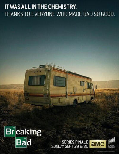 Breaking Bad Final Episodes Poster