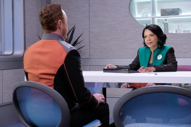 Malloy and Dr. Finn - The Orville Season 2 Episode 4