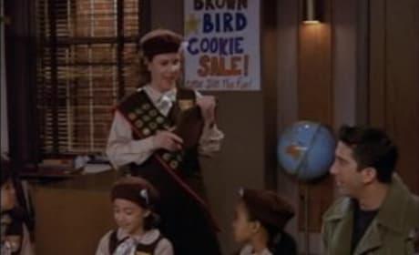 Ross Sells Cookies