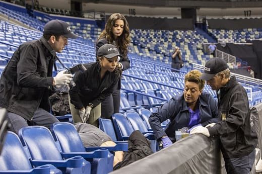 Death In a Sports Arena - NCIS: New Orleans