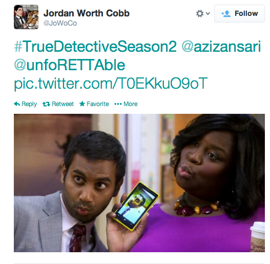 From Parks and Rec to True Detective?