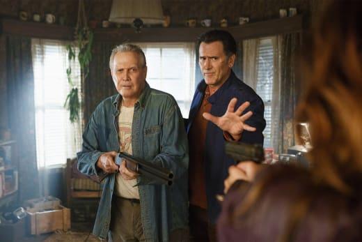It's My Dad - Ash vs Evil Dead Season 2 Episode 1