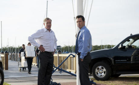 John C. McGinley on Burn Notice