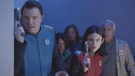 Weapons at the Ready - The Orville Season 1 Episode 1