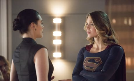 Supergirl Questions Lena - Supergirl Season 2 Episode 15