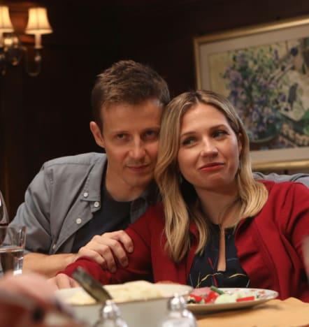 Enjoying Family Dinner - Blue Bloods Season 9 Episode 8