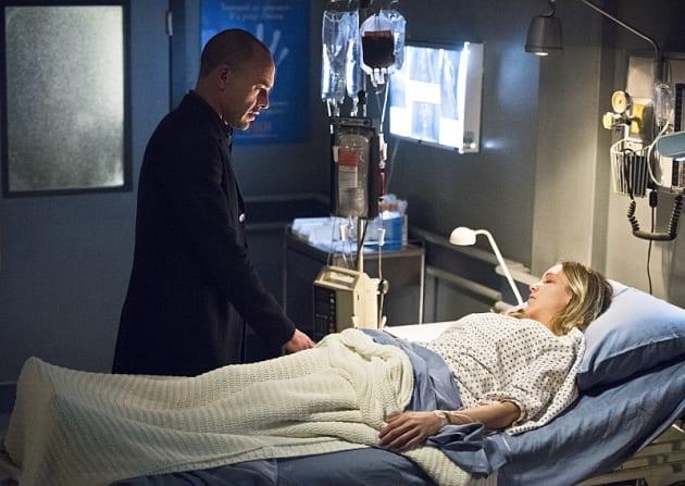 Dad and daughter - Arrow Season 4 Episode 19