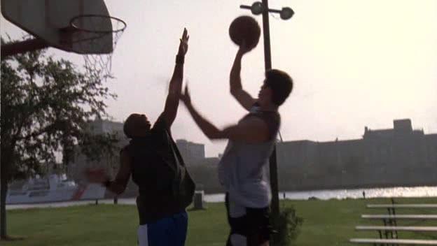Nathan and Skillz Playing Ball
