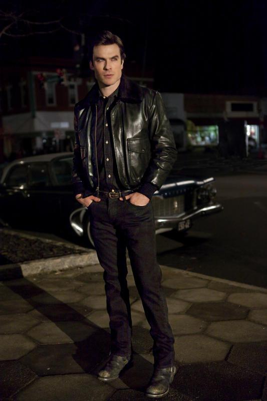 Damon in Leather