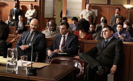Law & Order Courtroom Scene