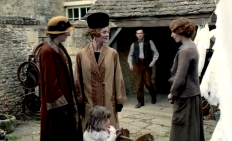 Edith's Attention - Downton Abbey Season 5 Episode 5