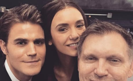 The Vampire Diaries Series Finale Pictures: Nina Dobrev's Return & More!