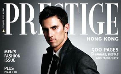 Milo Ventimiglia is Prestige Cover Boy