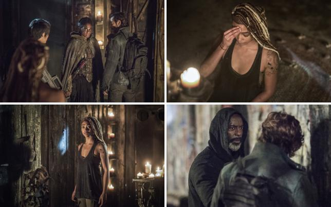 Kane and indra the 100 season 4 episode 8