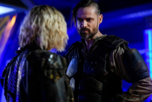 Clarke and McCreary - The 100 Season 5 Episode 11