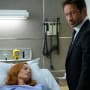 Mulder Watches Over Scully - The X-Files