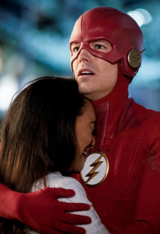WestAllen's Heart Breaks - The Flash Season 5 Episode 22