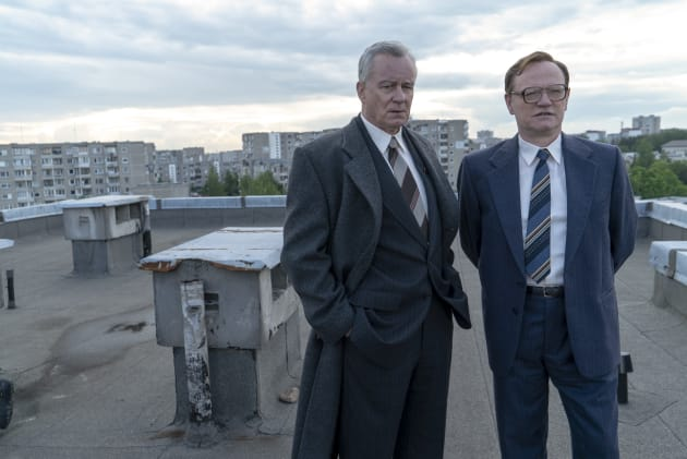 Surveying the Chernobyl Damage