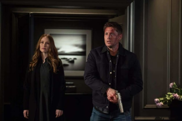 Dean And Jessica - Supernatural Season 13 Episode 19
