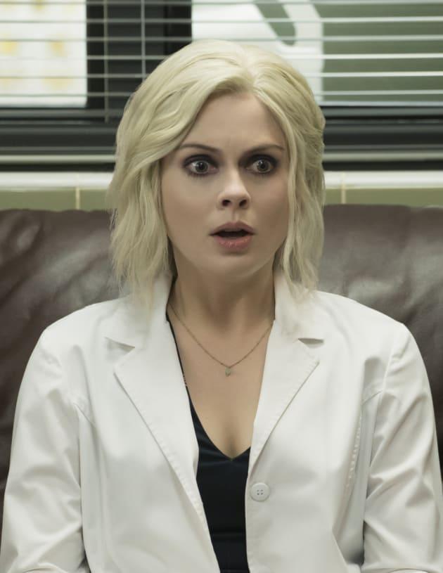 Liv Looks Shocked - iZombie