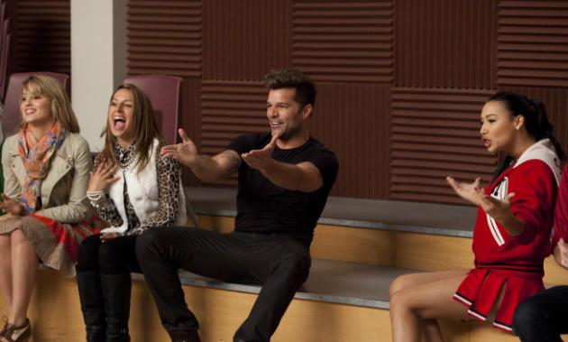 Ricky Marton on Glee