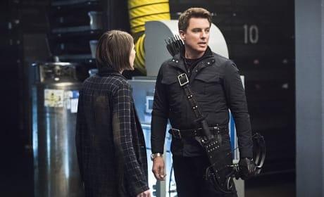 Pleading or not - Arrow Season 4 Episode 21