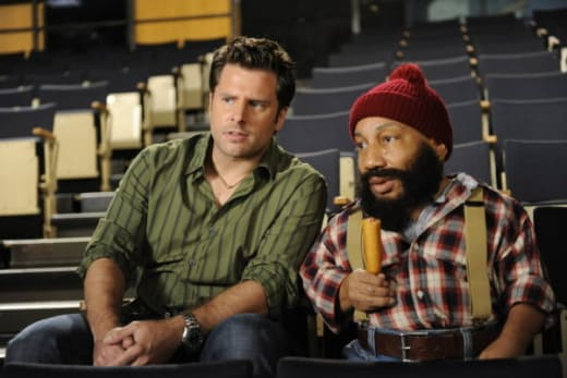 Psych Christmas Episodes.Psych Review The Christmas Spectacular Tv Fanatic