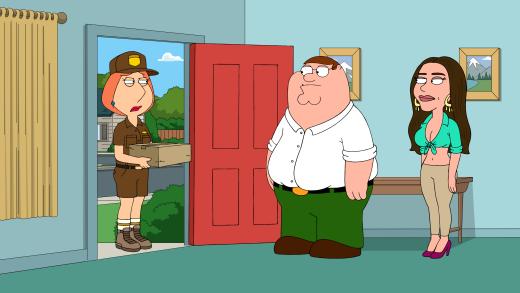 Love Triangle - Family Guy Season 16 Episode 1