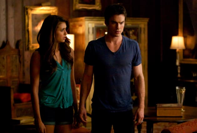 do elena and damon dating in real life
