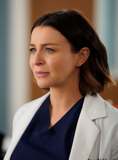 Amelia's Dilemma - tall  - Grey's Anatomy Season 16 Episode 13