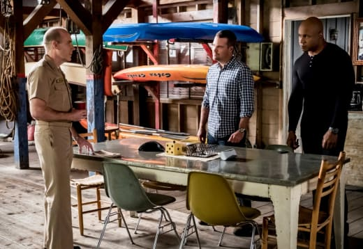 Insider Accomplice - NCIS: Los Angeles Season 10 Episode 12