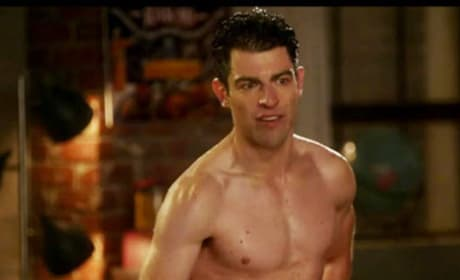 Schmidt Shirtless