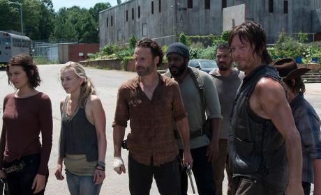 Walking Dead Midseason Finale Scene