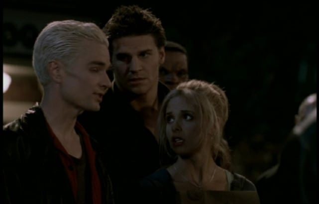 Relationship buffy spike and Look Back